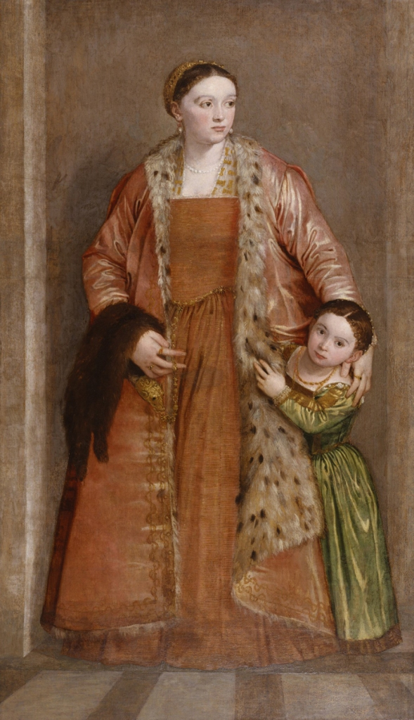 1552 Veronese portrait of Countess Livia da Porto Thiene currently in the Walters Art Museum in Baltimore, Maryland.